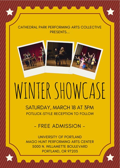 Winter Showcase 2017   March 18th