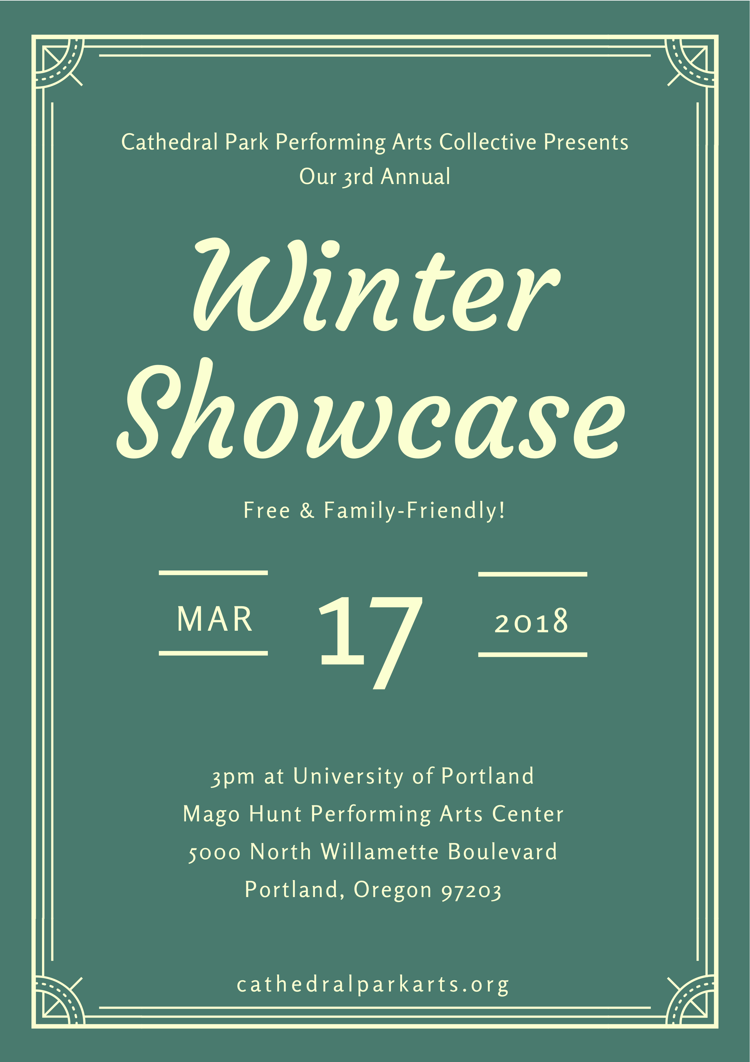 Winter Showcase 2018   March 17