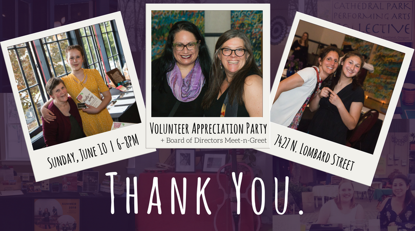 Volunteer Appreciation Party | June 10