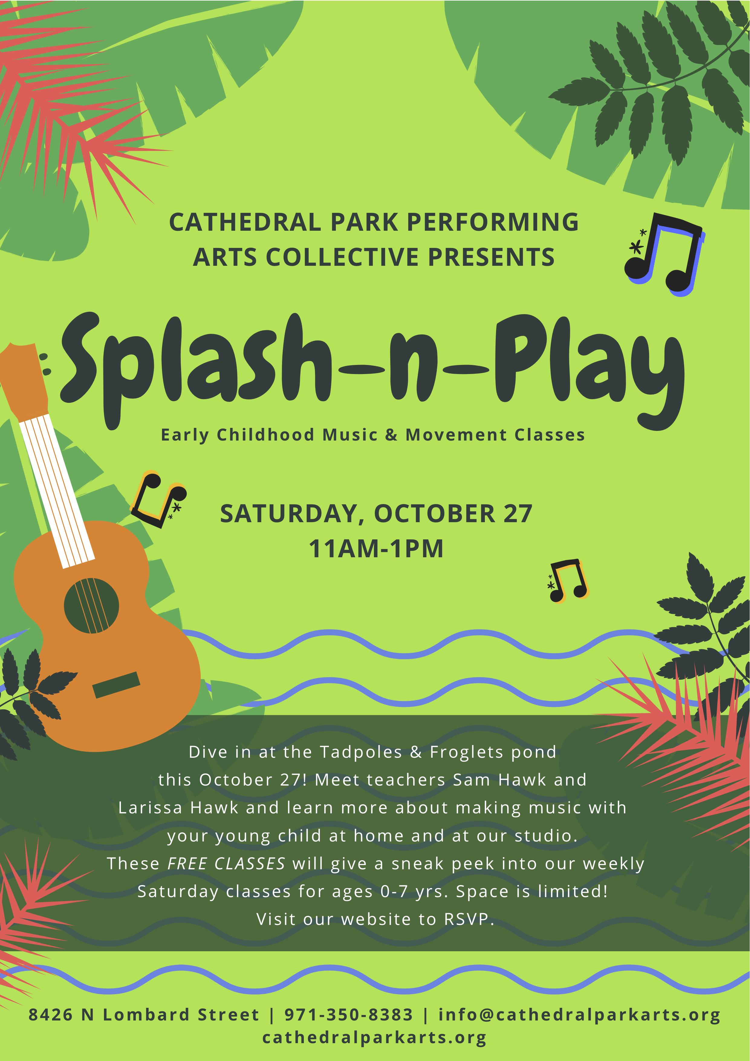 Splash-n-Play | October 27