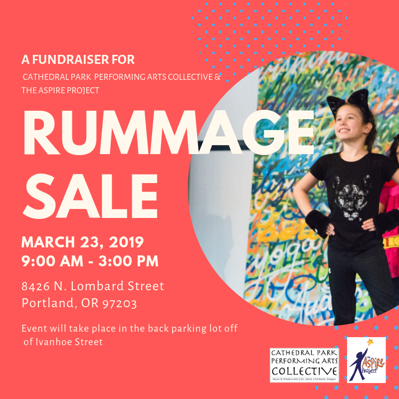 Rummage Sale | March 23