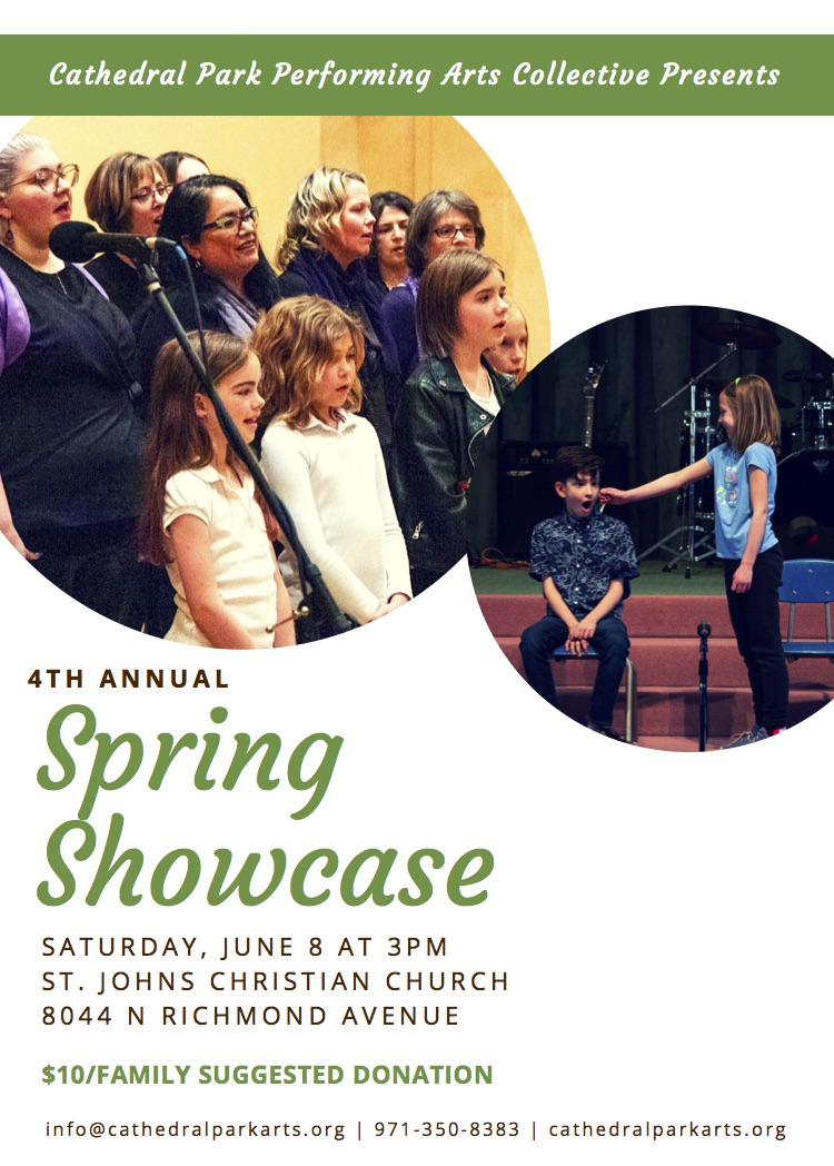 Spring Showcase | June 8
