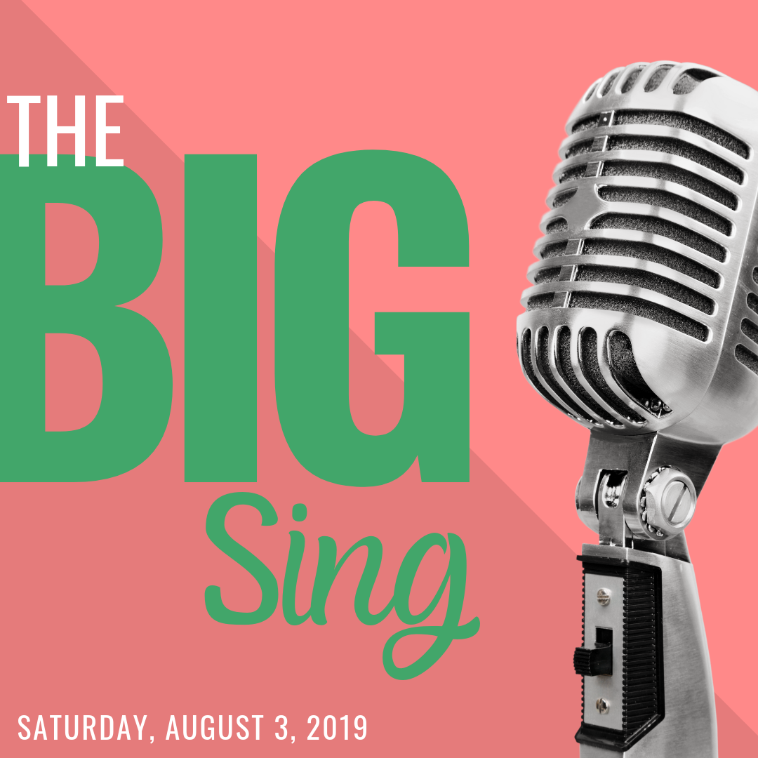 The Big Sing! | August 3
