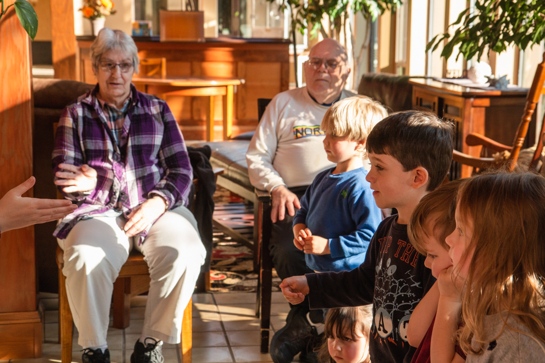 Arts for All Ages: Grandparents All Around Us