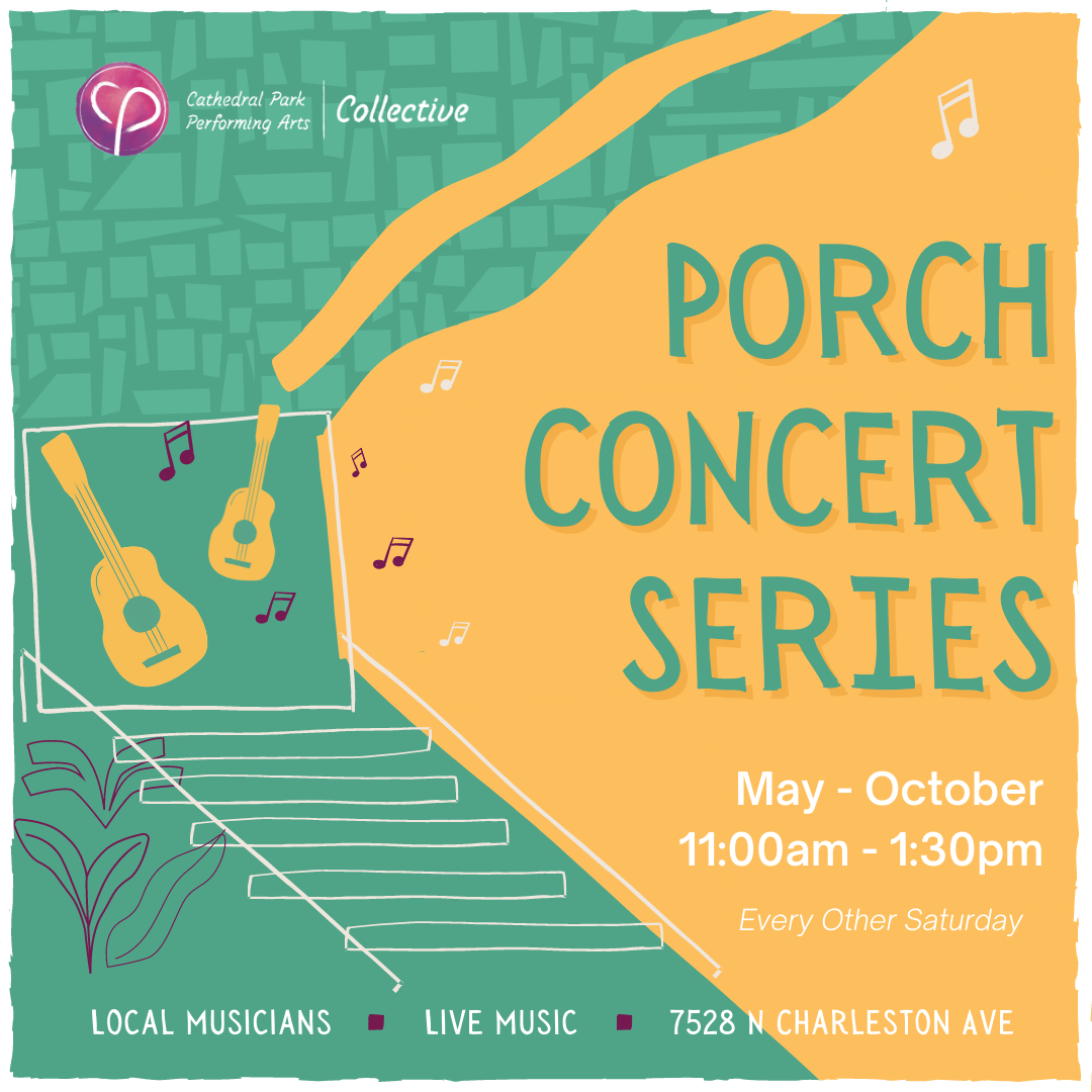 Porch Concert Series   May-October